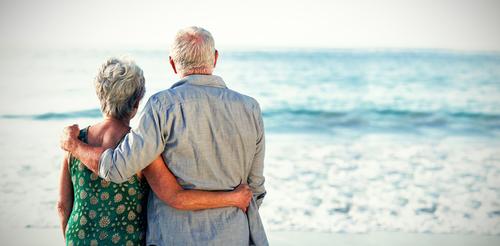 Stel met pensioen