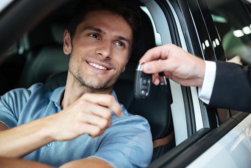 Autosleutel afdragen