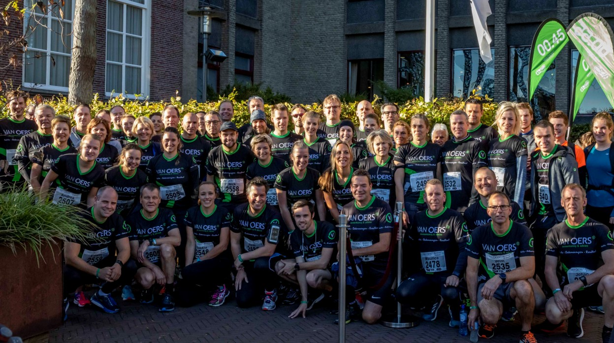 marathon groepsfoto