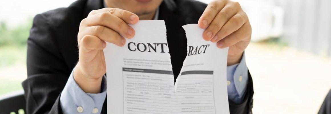 Aflopen pensioencontract