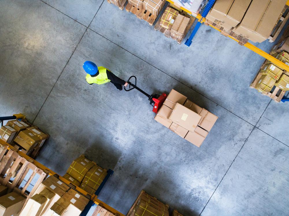 De adviseur voor warehousing